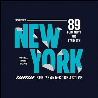 New york - typografie Premium Vektoren