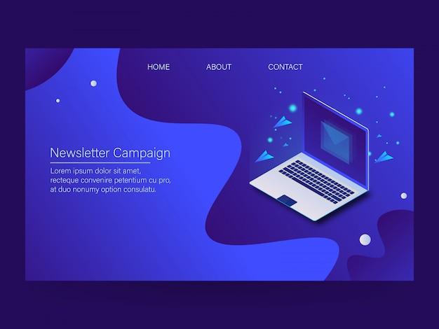 Newsletter-kampagne