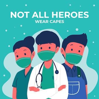Nicht alle helden tragen umhang-schriftzüge