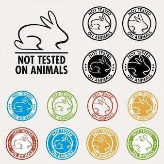 Nicht an tieren getestet seals