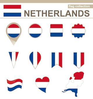 Niederländische flaggenkollektion, 12 versionen