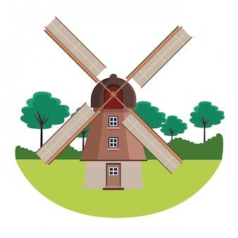 Niederländische mühlendenkmäler