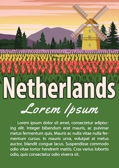 Niederlande wahrzeichen broschüre