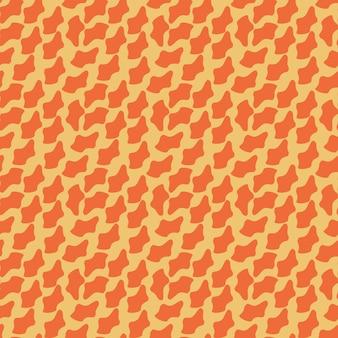 Niedliche abstrakte flecken nahtloses vektormustereinfaches unregelmäßiges geometrisches design