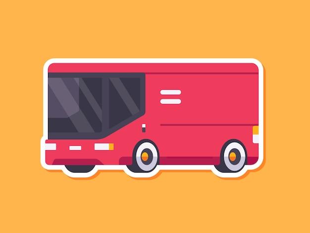 Niedliche autoaufkleber-lieferung