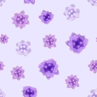 Niedliche blumen des nahtlosen vektormusters für textilgewebemodedruck