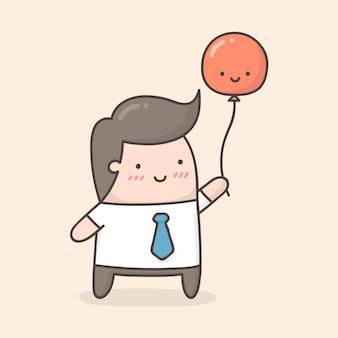 Niedliche cartoon-illustration