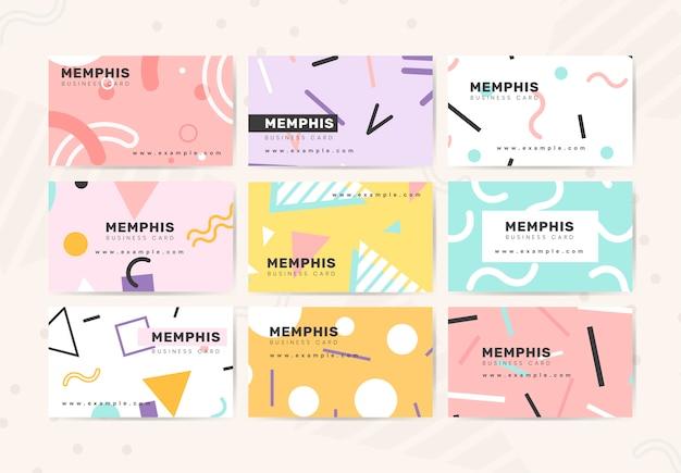 Niedliche design-visitenkarte
