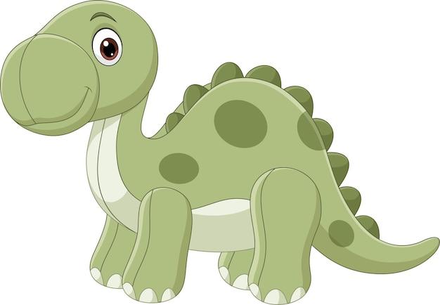 Niedliche dinosaurierpuppe