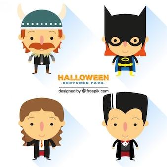 Niedliche halloween-kostüme