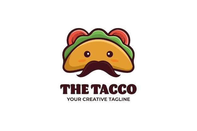 Niedliche papierkorb-maskottchen-zeichen-logo-vorlage