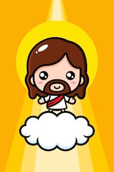 Niedlicher jesus christus entwurf