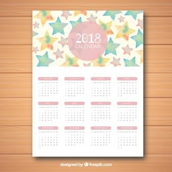 Niedlicher kalender 2018