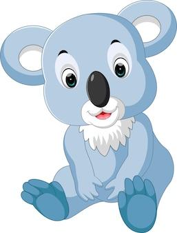 Niedlicher Koala-Cartoon