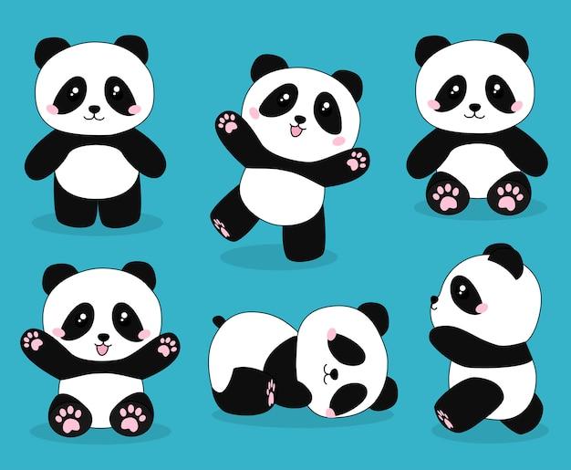 Niedlicher pandabär