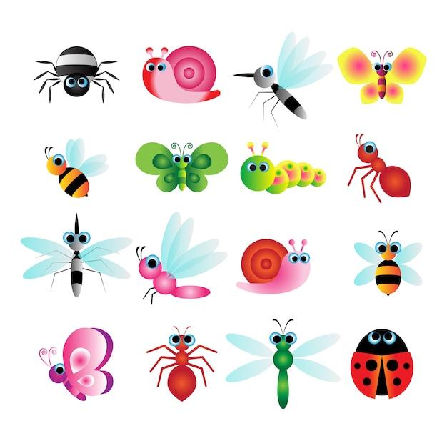 Niedliches insekt