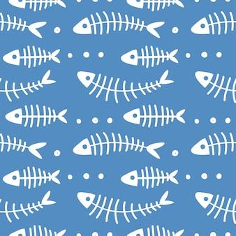 Niedliches marine-kindermuster. kindisch nahtlos mit unterwassertieren. vektor-hintergrund. kreative textur für stoff, verpackung, textilien, tapeten, bekleidung. baby-fisch-meer-hintergrund. einer von 12
