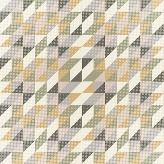 Niedriger abstrakter polyhintergrund in den skandinavischen farben