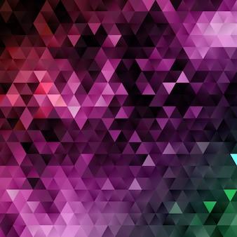 Niedriger abstrakter polyhintergrund