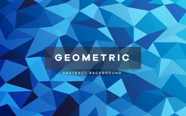Niedriger geometrischer polyhintergrund