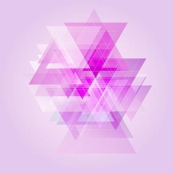 Niedriges abstraktes polydesign