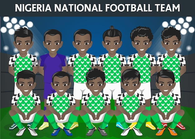 Nigeria national football team für internationales turnier