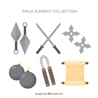 Ninja elements sammlung