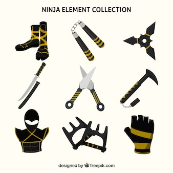 Ninja elementsammlung
