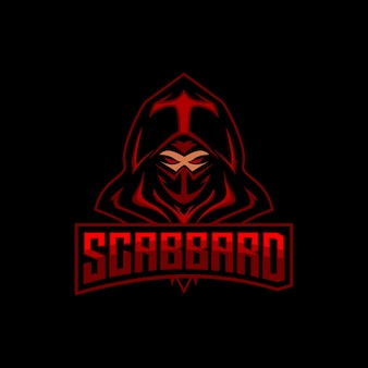 Ninja esports logo gaming maskottchen