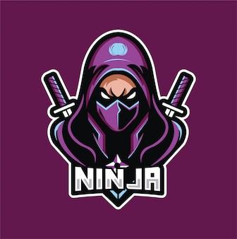 Ninja gaming logo esport