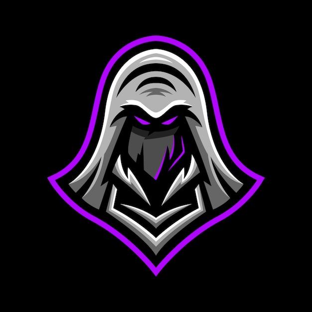 Ninja-maskottchen-logo