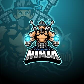 Ninja-maskottchen