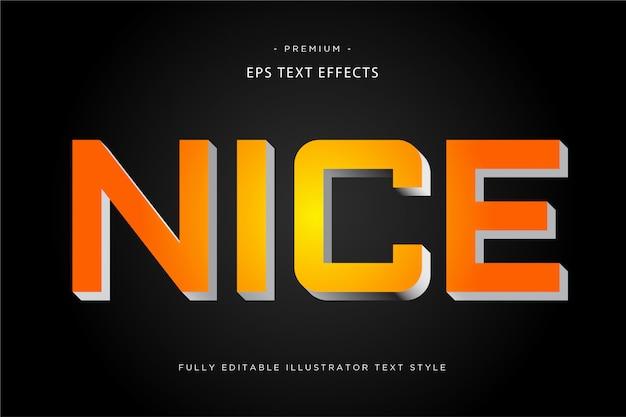 Nizza bunten textstil