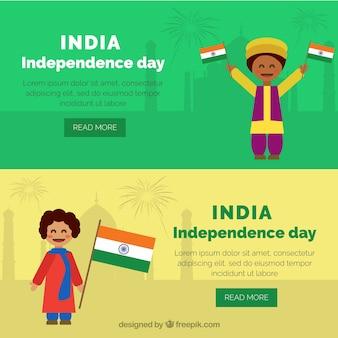 Nizza unabhängigkeitstag indien banner