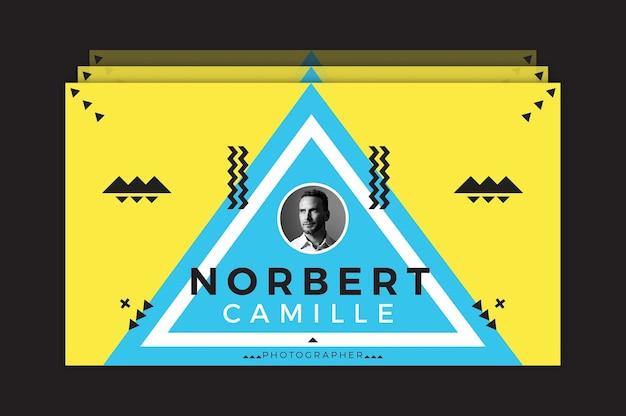 Norbert camille visitenkarte vorlage