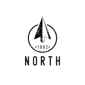 Nord klassisches logo vintage