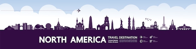 Nordamerika reiseziel großartig