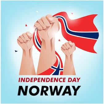 Norwegischer unabhängigkeitstag