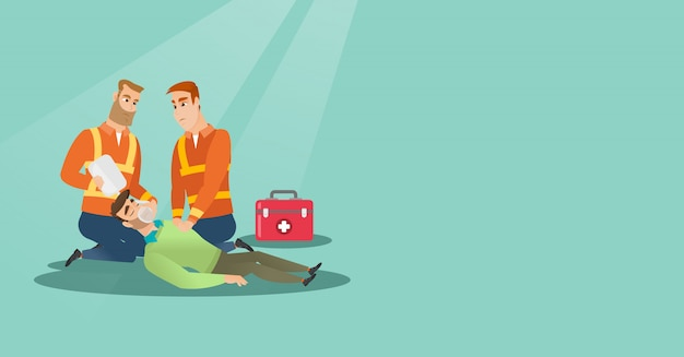 Notfall bei kardiopulmonaler wiederbelebung