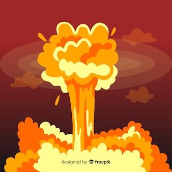 Nukleare explosionseffekt-karikaturart