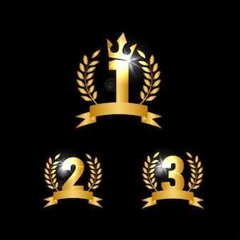 Nummer 1 2 3 symbol vorlage
