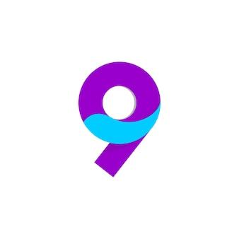 Nummer 9 logo