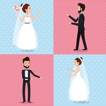 Nur verheiratete paare setzen bilder