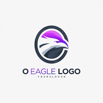 O eagle logo fly phoenix