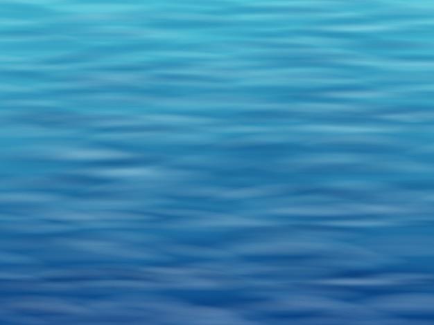 Oberflächenhintergrund des blauen wassers