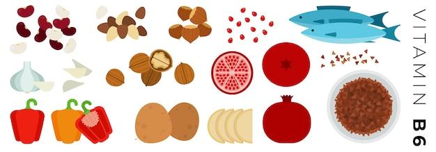 Obst gemüse und tierische produkte isoliert auf weiß