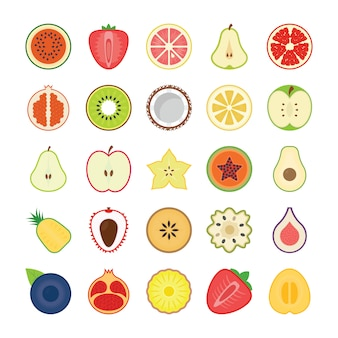 Obst icons pack
