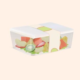 Obstverpackungsbox aus kunststoff