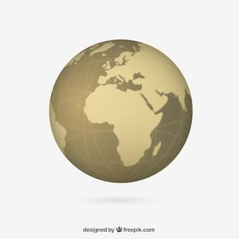 Ochre globus