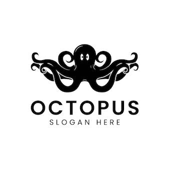Octopus-logo. Premium Vektoren